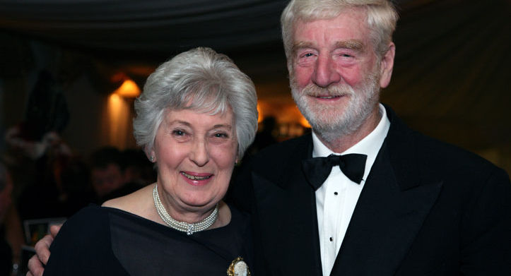 The Lord of Grafton, John Morris and his wife June