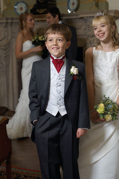 We have matching boyswear in sizes to fit even the cutest small pageboy